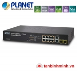 Switch 8 Port Planet FGSD-1022P/ PoE