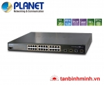 Switch 24 Port Planet FGSW-2620PVM/ PoE